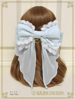 Dreamy ribbon barrette[UP]